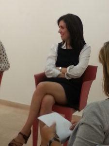 """Nadia Terranova a """"Incontri al femminile"""", De.Sidera, Fermignano."""